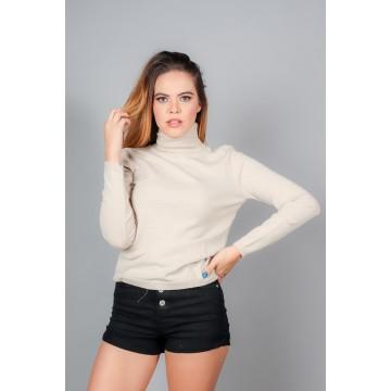 BLUSA LISA CUELLO DE TORTUGA